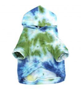 Sudadera Tie Dye azul