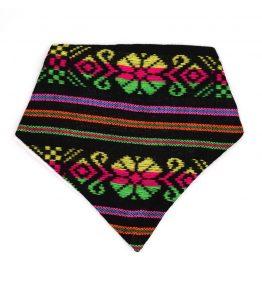 Bandana estilo artesanal multicolor