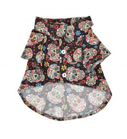 Camisa Calavera Floral
